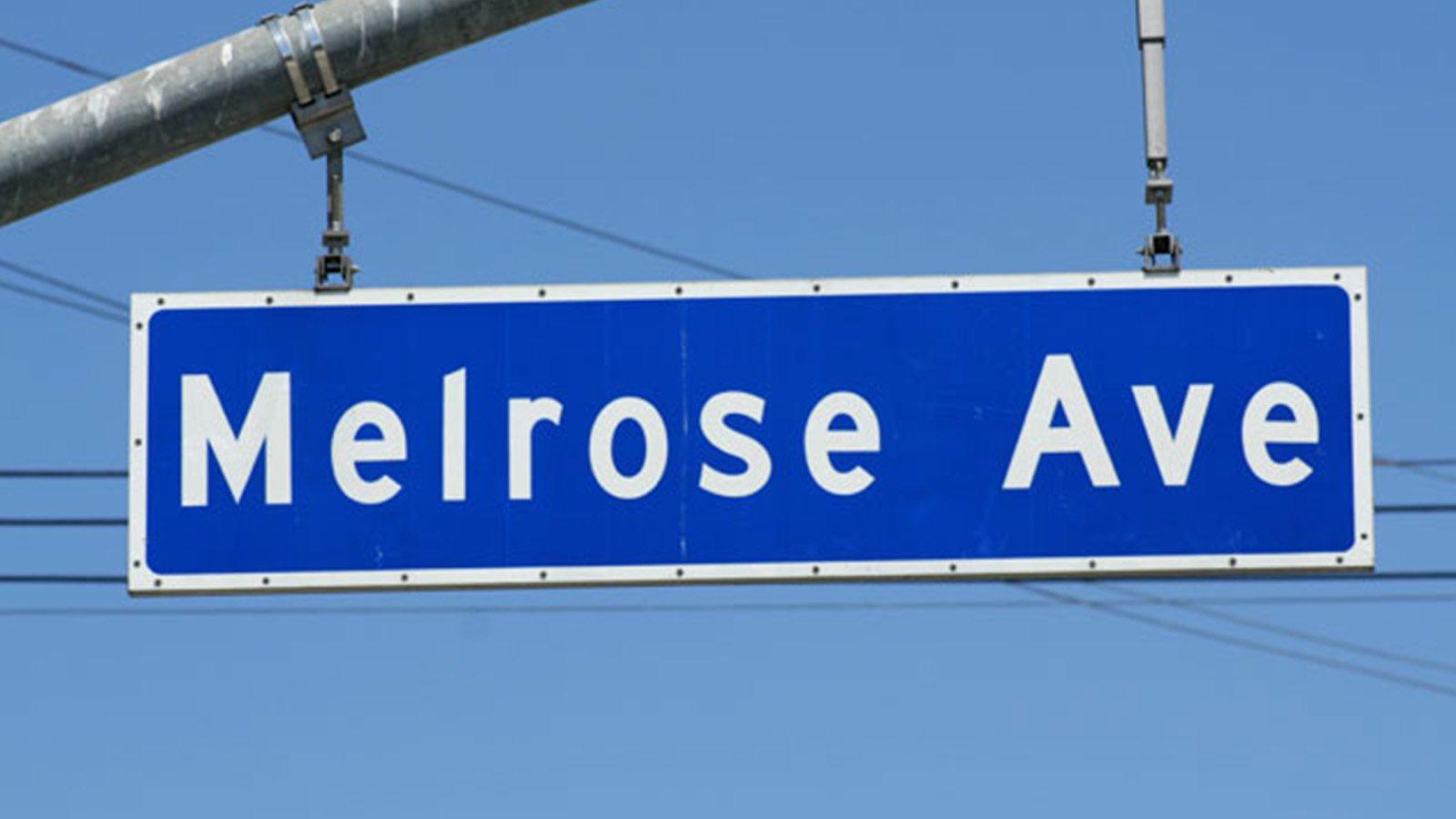 Shopping on Melrose Avenue