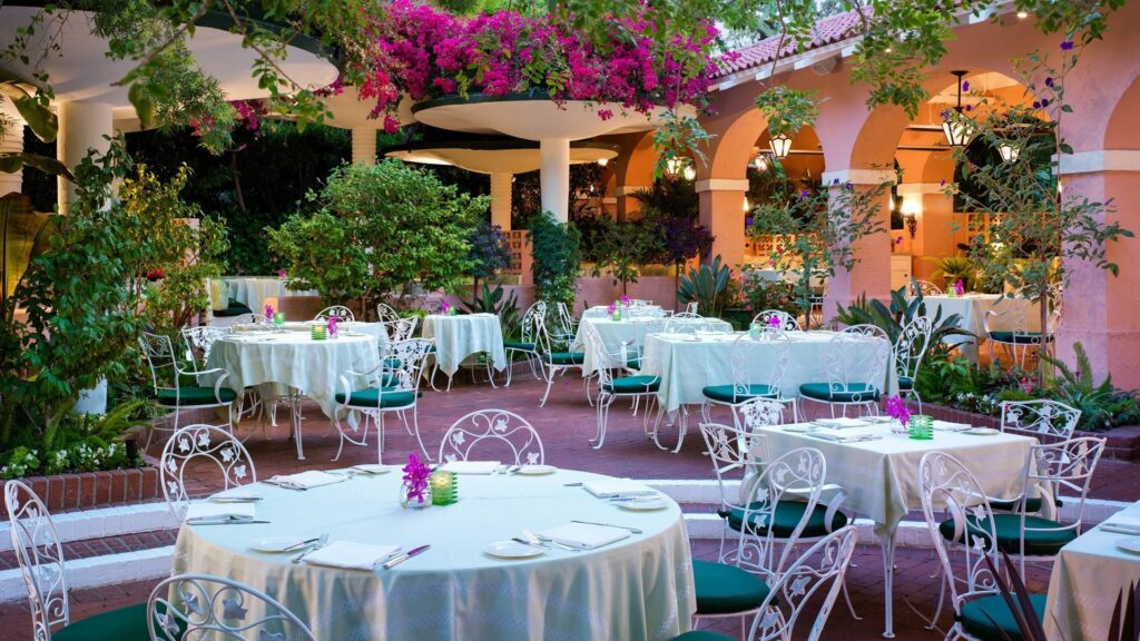10 of the finest places to dine al fresco