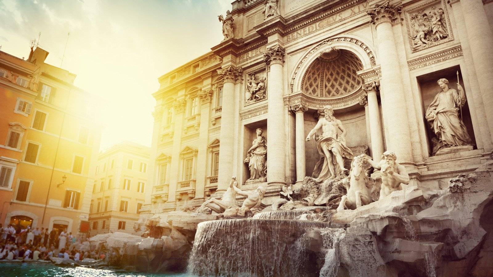 Make a Wish at the Trevi Fountain