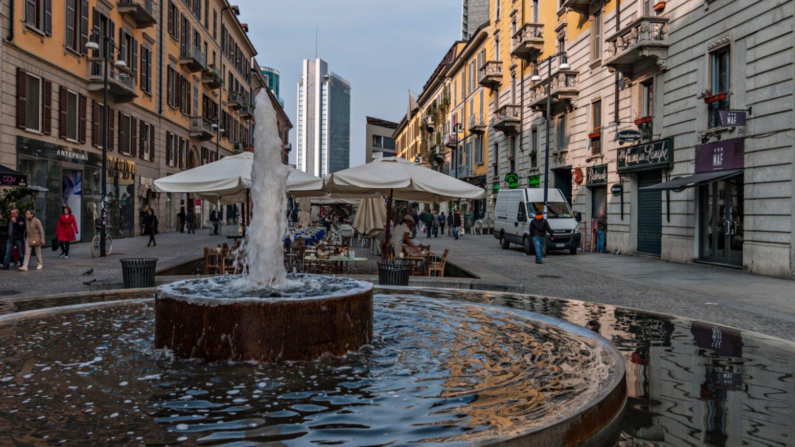 Garibaldi and Corso Como