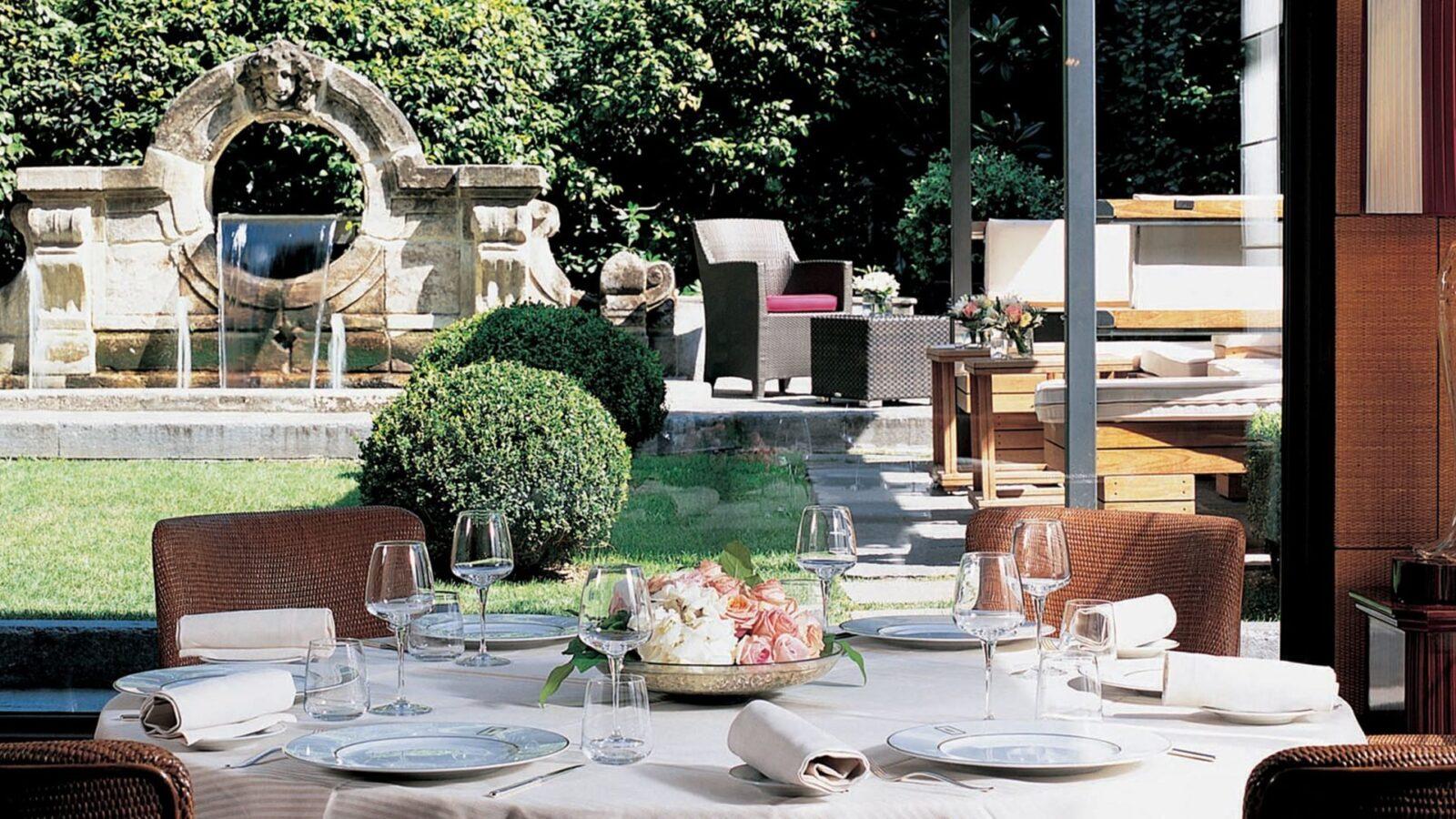 Acanto Restaurant, Hotel Principe di Savoia Milan