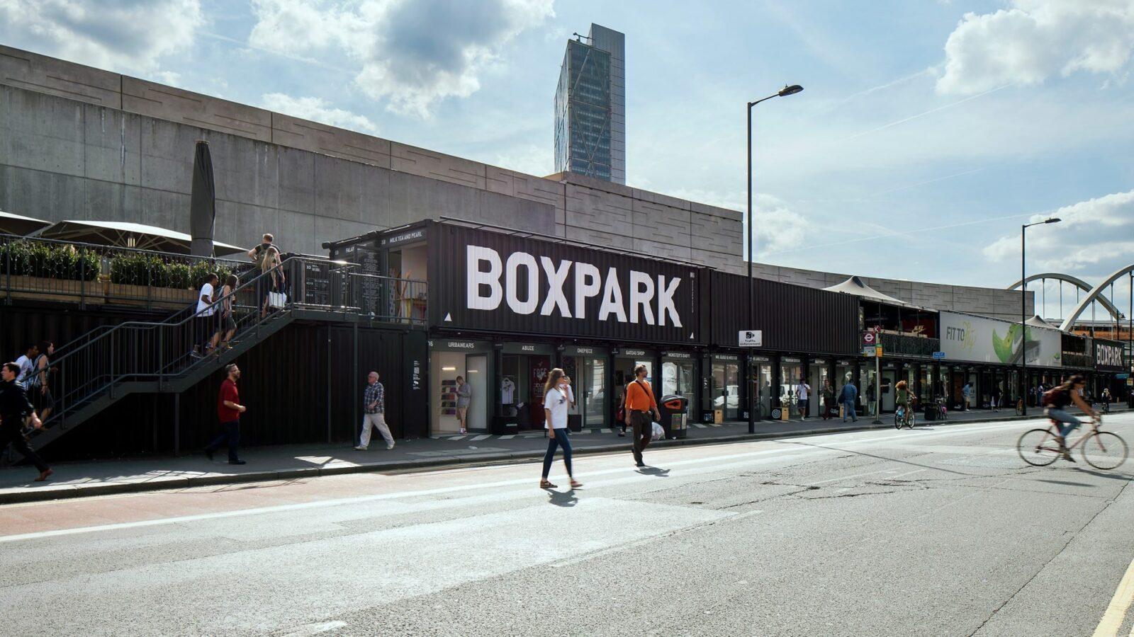 Shop at Boxpark Shoreditch