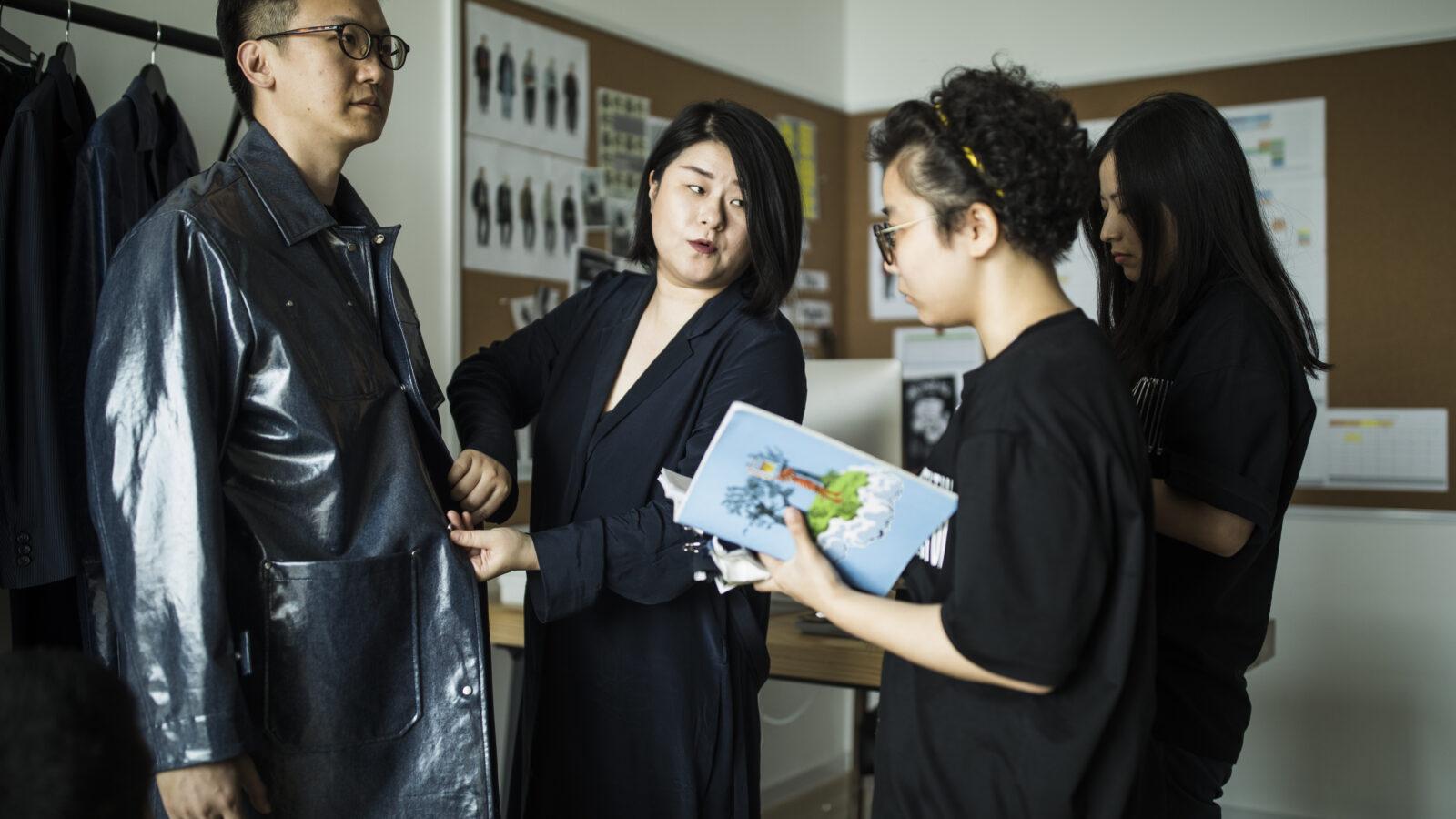 Masha Ma with her design team at the Mattitude Studio in Shanghai.