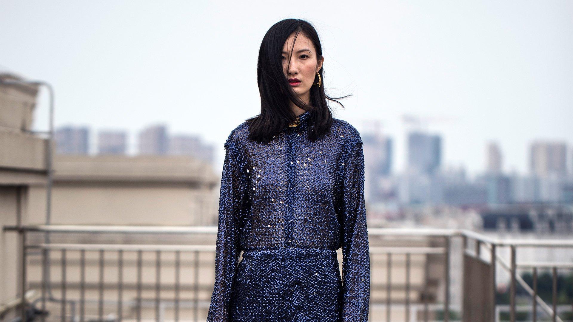 Chinese fashion designer Masha Ma