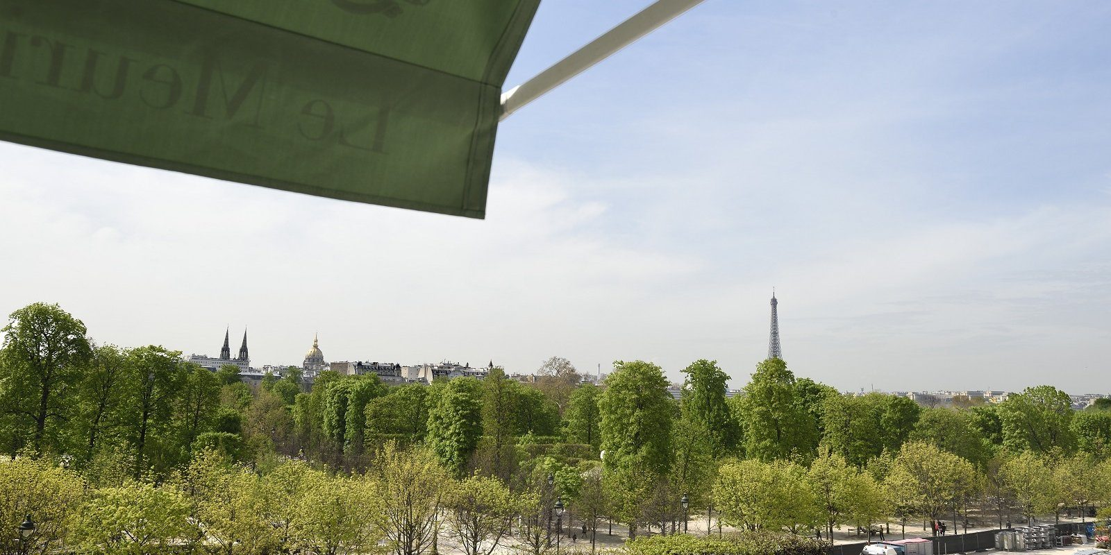 View from Le Meurice