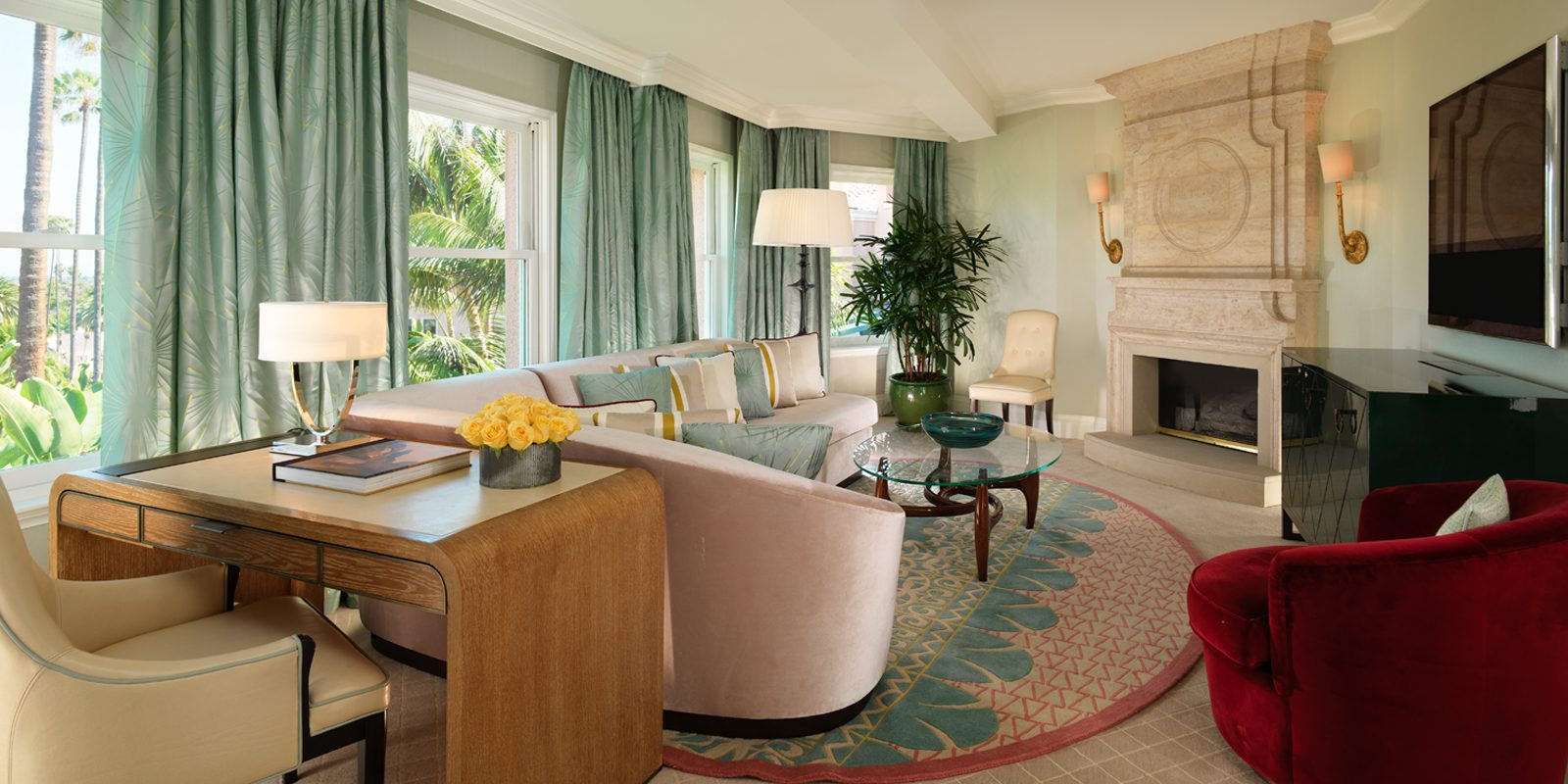 Beverly Hills Suite living room