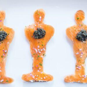 45 Park Lane - Award Season - Salmon with caviar