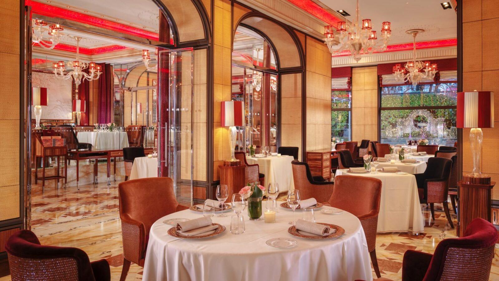 Acanto Restaurant at Hotel Principe di Savoia, Milan