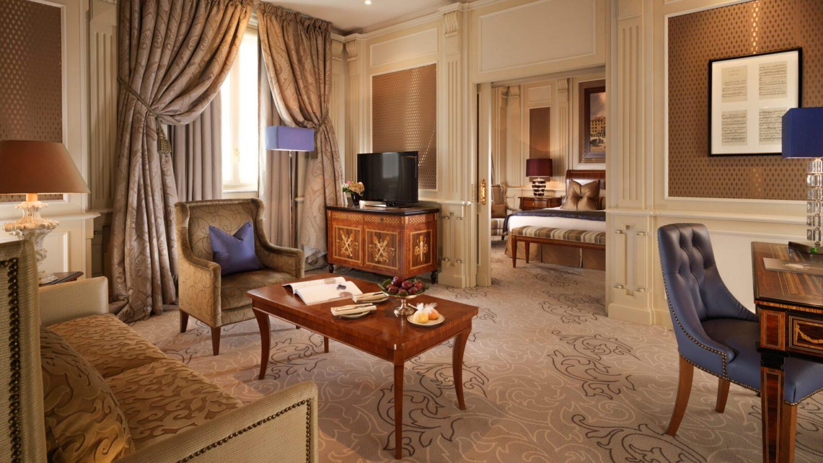 Ambassador Suite, Hotel Principe di Savoia, Milan