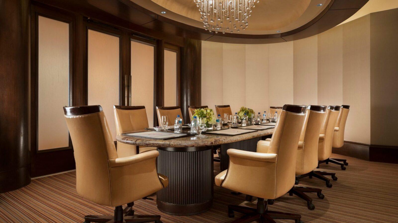Where meetings happen
