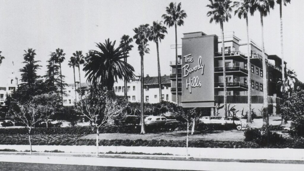 The Beverly Hills Hotel's unique history