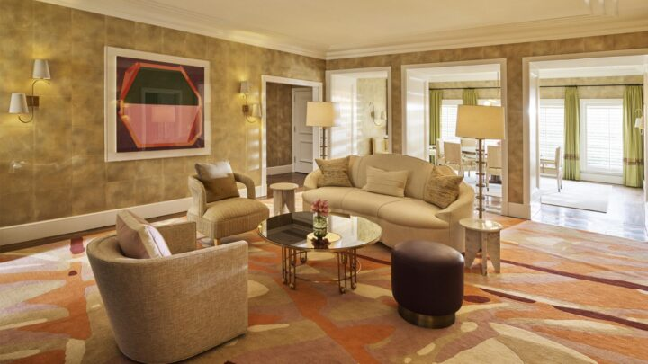 Inside the private bungalows at The Beverley Hills Hotel