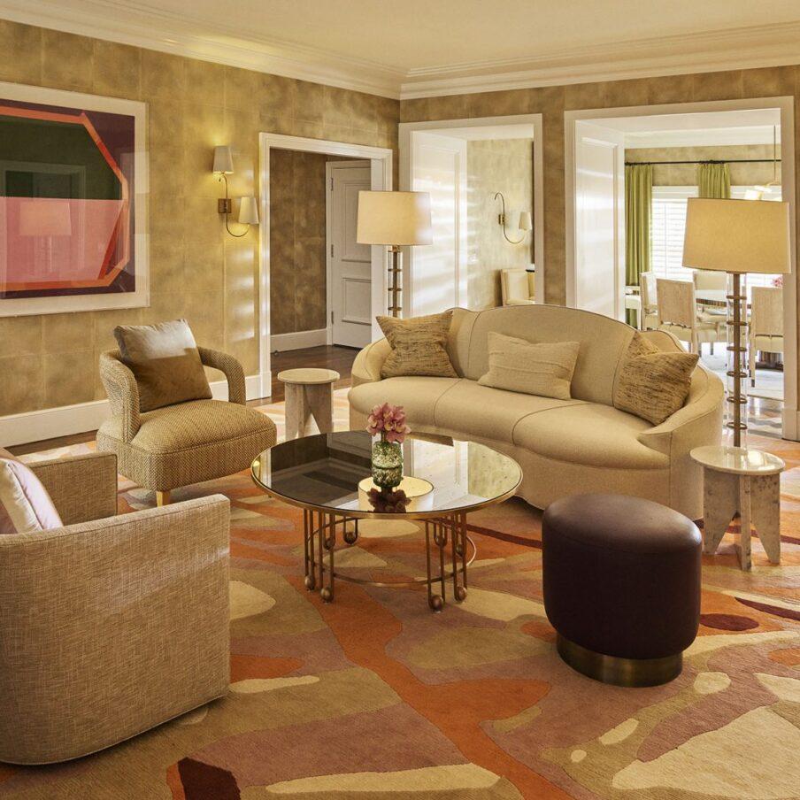 Bungalow 1 living room