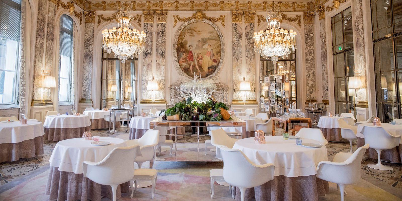 Le Meurice Alain Ducasse restaurant