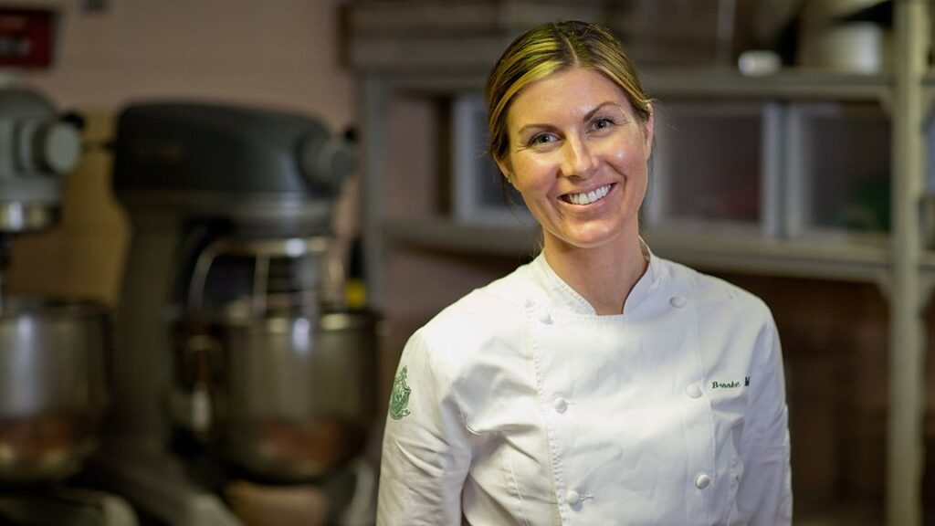 Meet executive pastry chef Brooke Martin