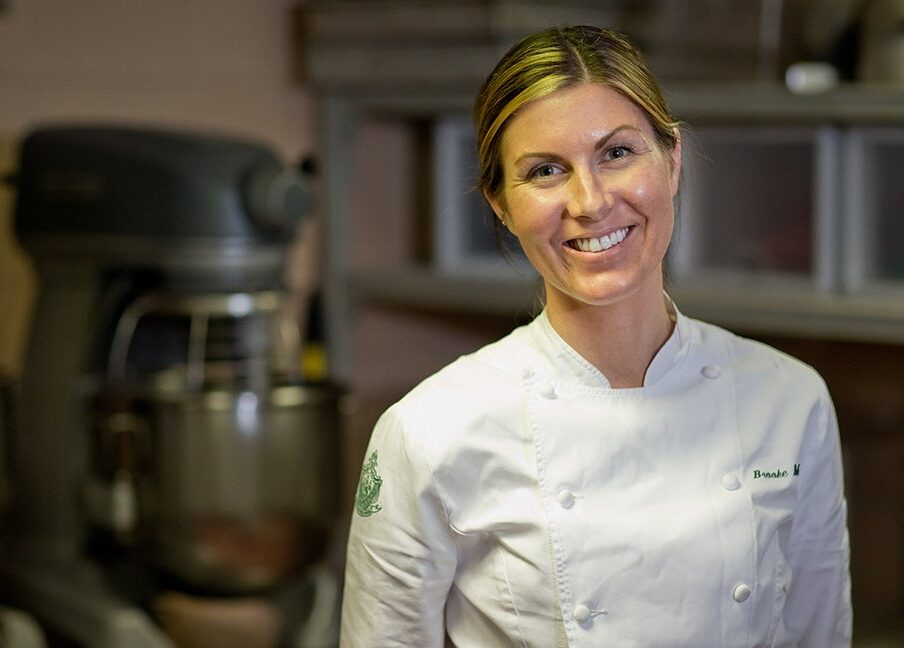 Executive pastry chef Brooke Martin at The Beverly Hills Hotel