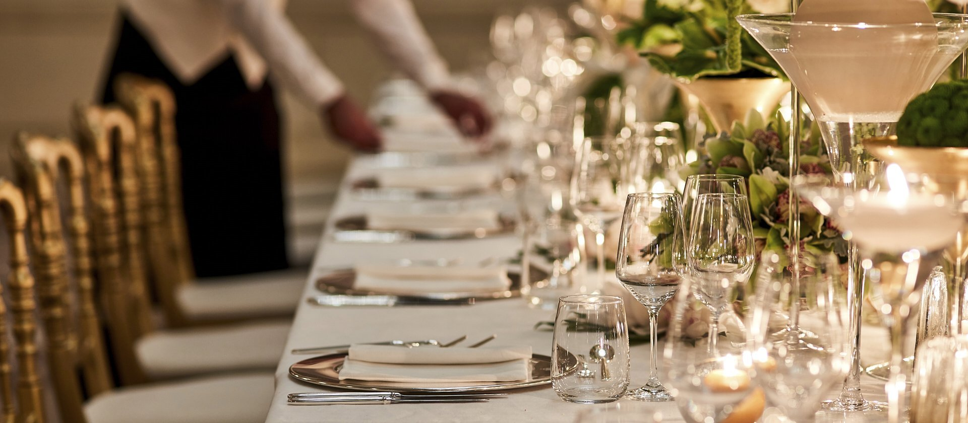 Hotel Principe di Savoia event spaces, Cristalli Gala dinner