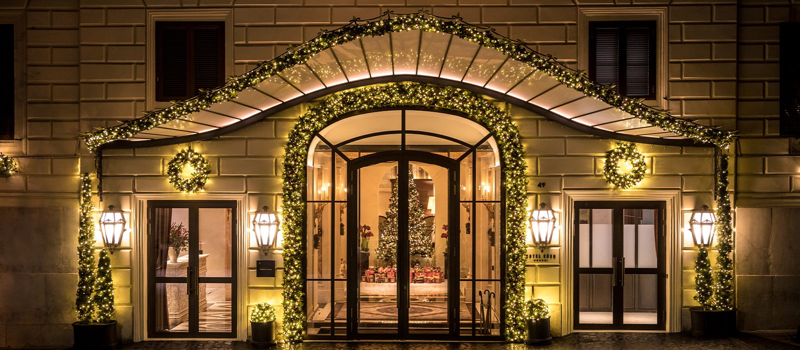 Best Hotel That Serves Christmas Eve Dinner In Rome 2020 Festive Season at Hotel Eden | Dorchester Collection