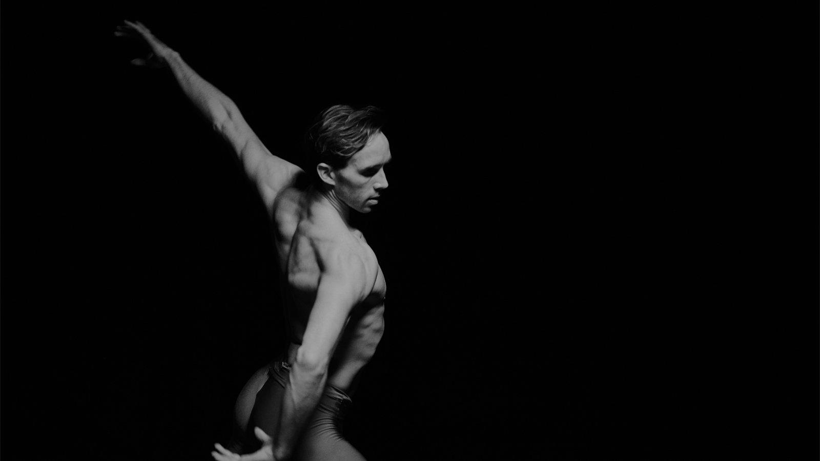 James Stout, principal dancer at the Dutch National Ballet performing ballet