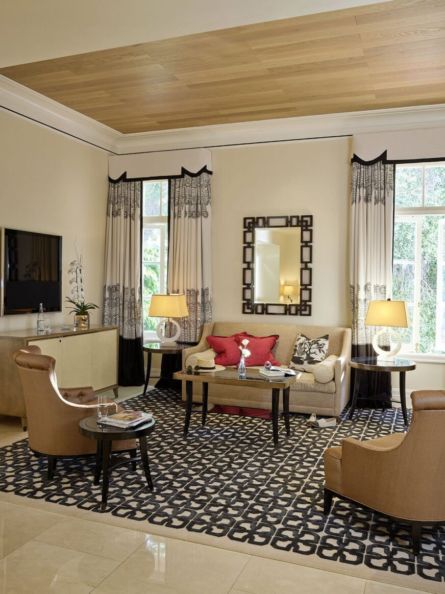 2 Bedroom Suites In Savannah Ga: Two Bedroom Bel-Air Suite - Hotel Bel-Air