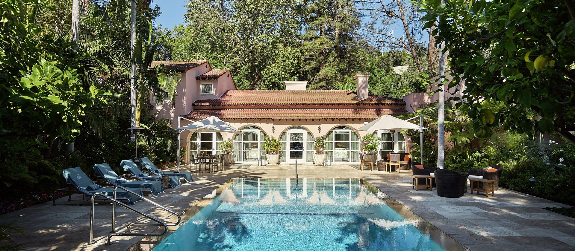 Rooms & Suites - Los Angeles - Hotel Bel-Air | Dorchester