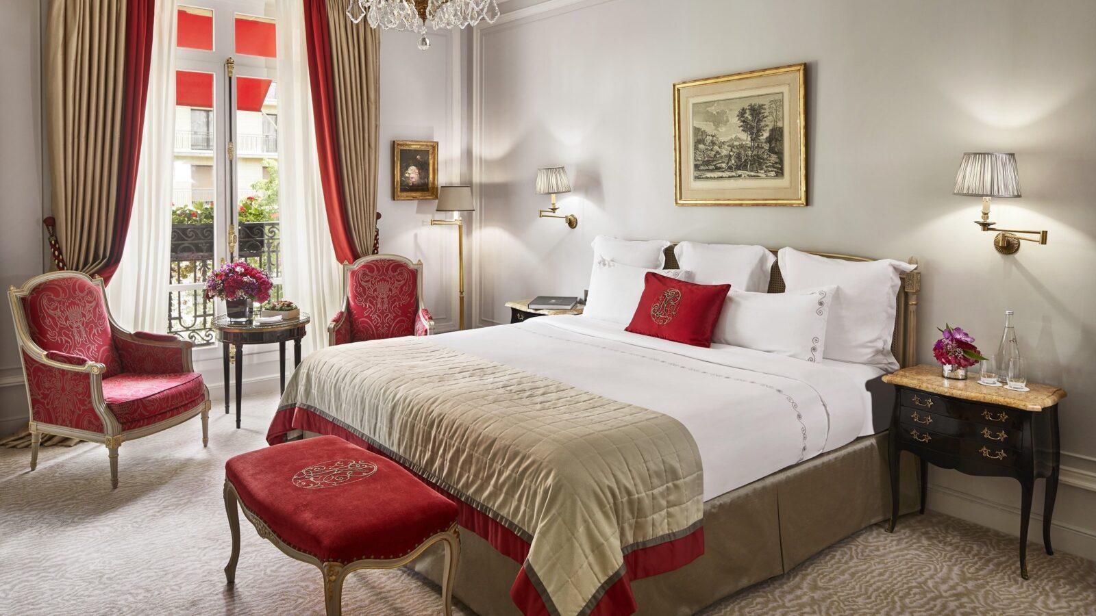 Deluxe Suite at Hôtel Plaza Athénée, Paris