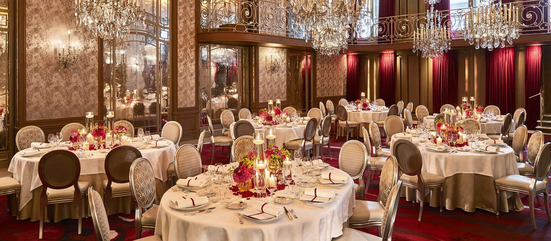 Salon Haute Couture, Hôtel Plaza Athénée  Dorchester Collection