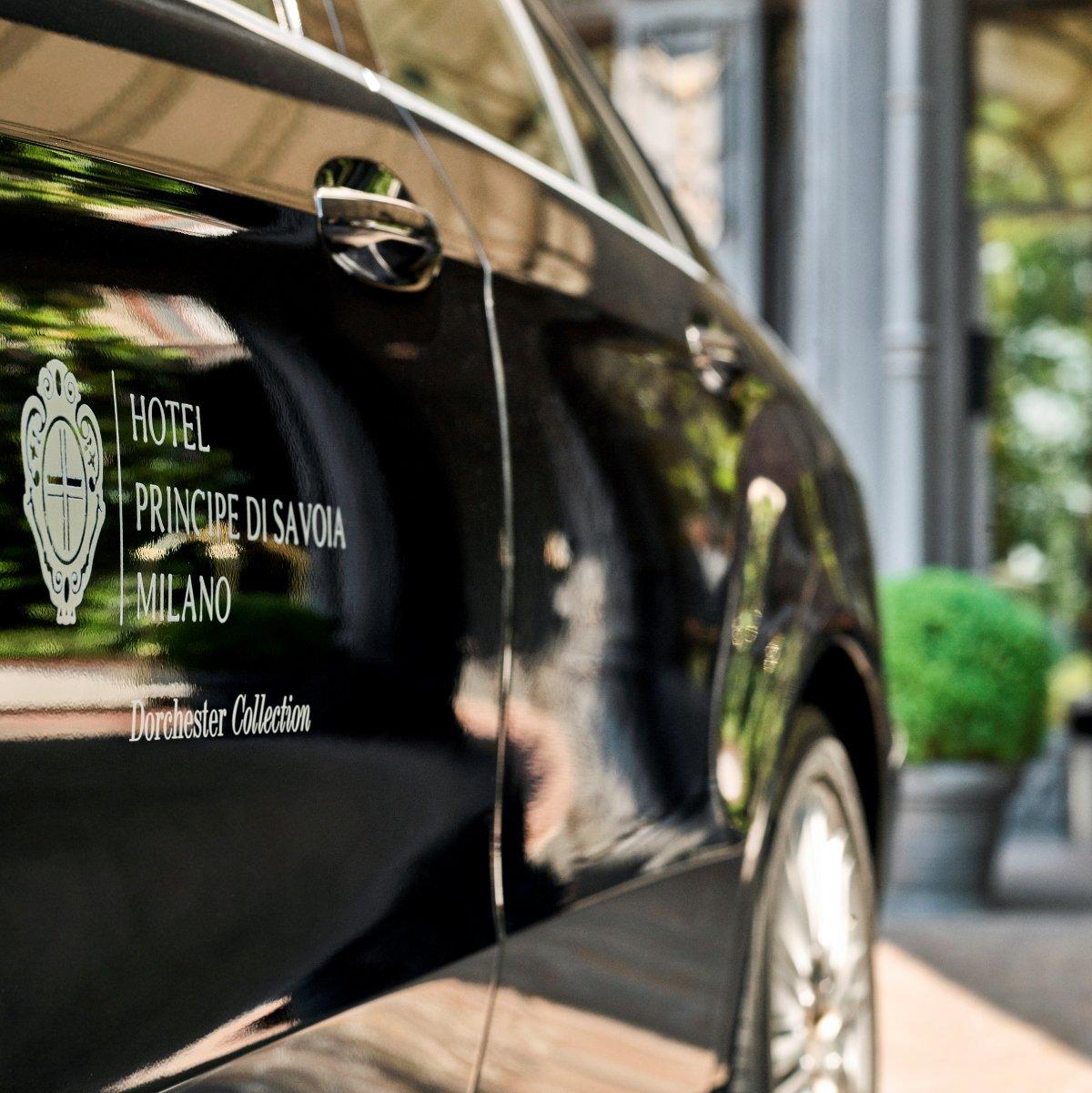 Hotel Principe di Savoia Milan, limousine service