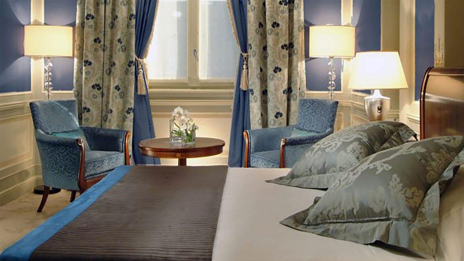Mosaic Room at Hotel Principe di Savoia