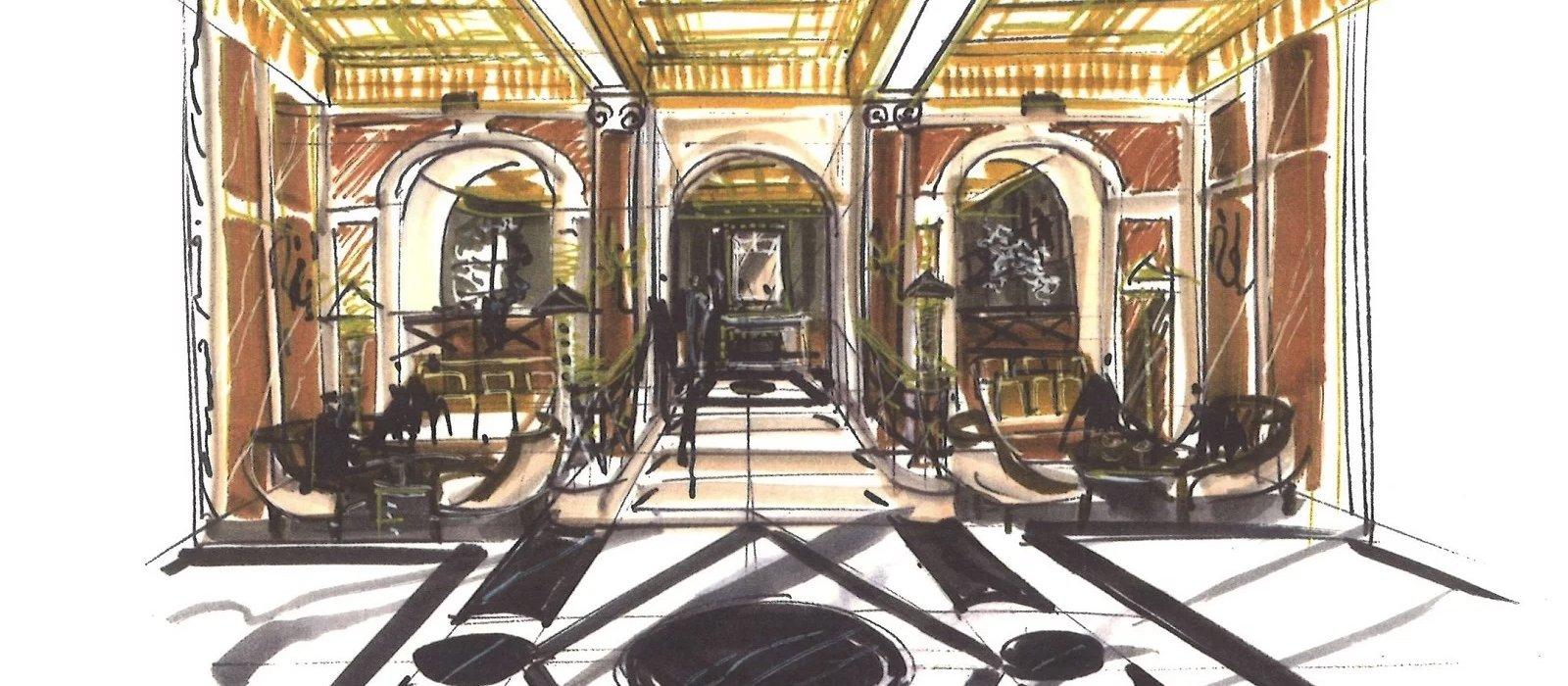 Hotel Eden S Interior Design Inspiration Dorchester Collection