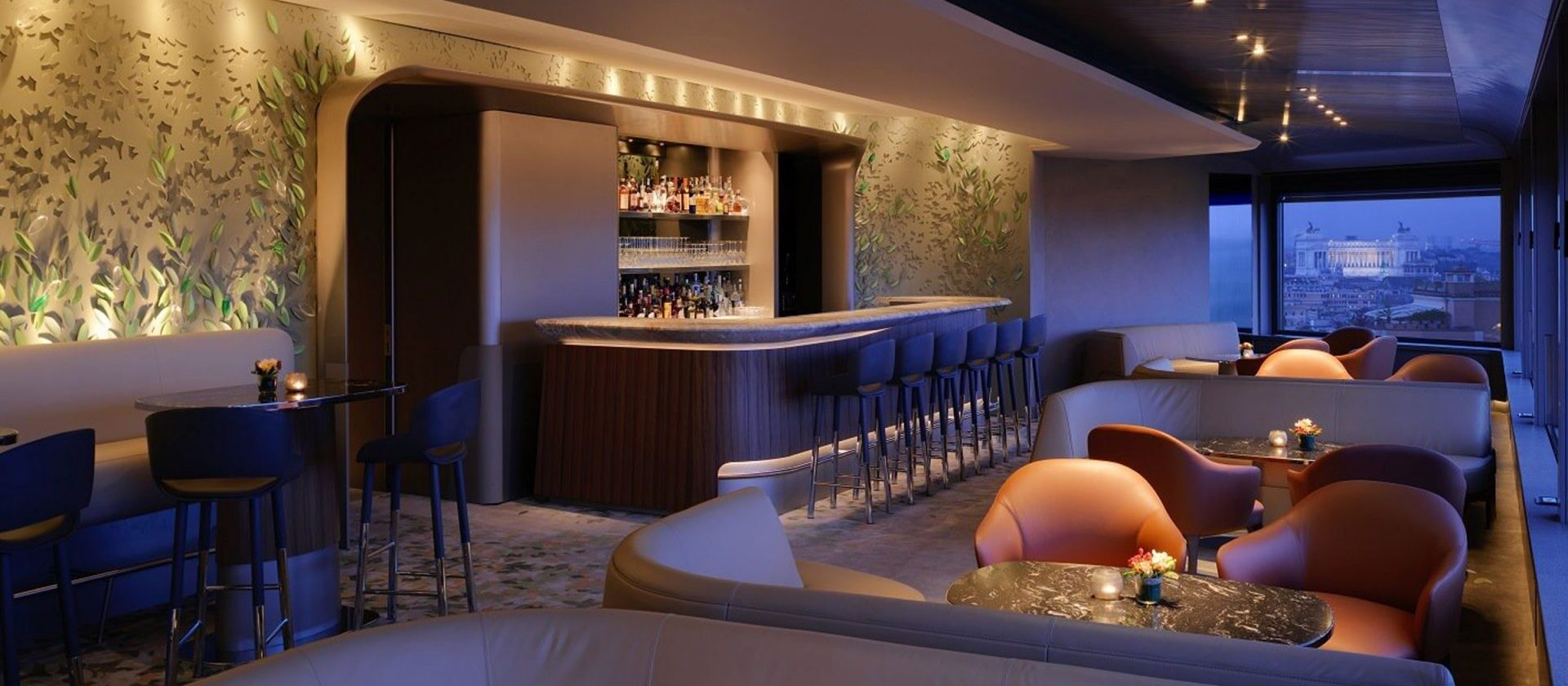 Il Giardino Bar At Hotel Eden Dorchester Collection