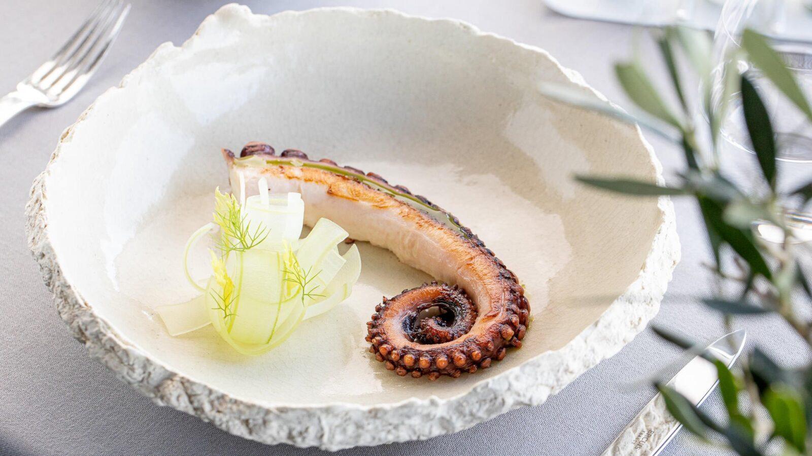 La Terrazza - Octopus and celery