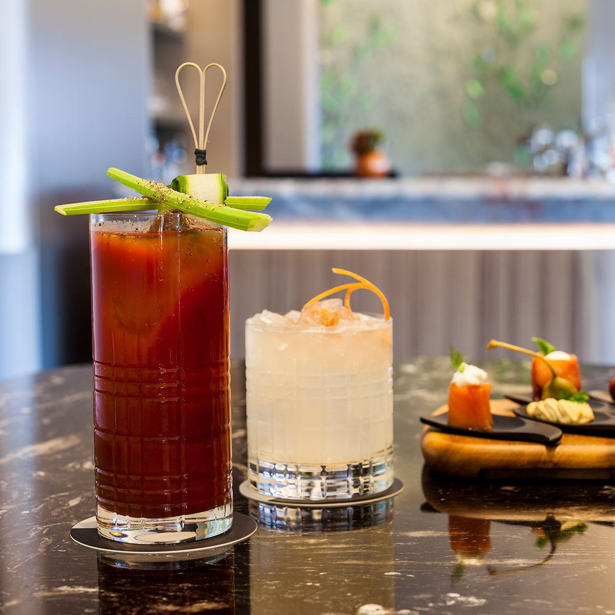 Aperitivo Cocktails At Hotel Eden Dorchester Collection