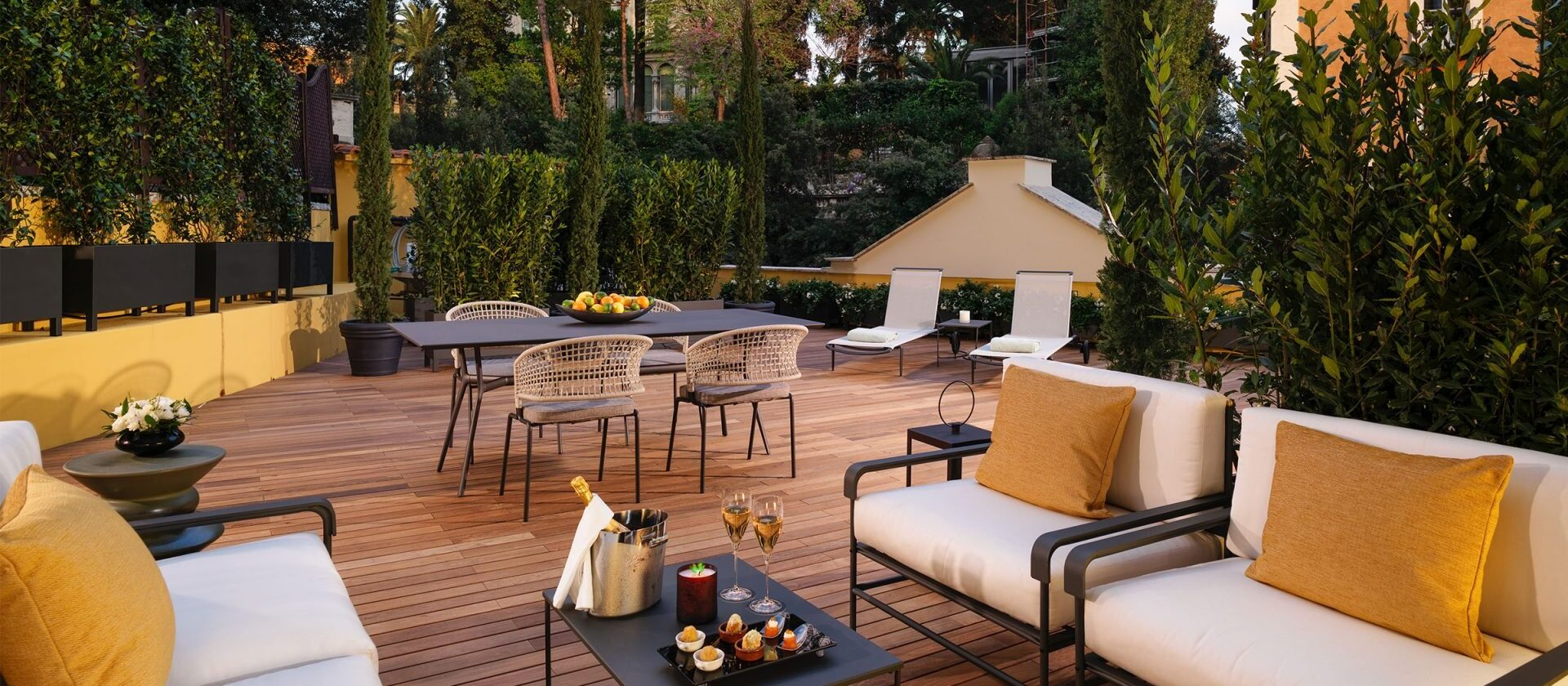 Aurora Terrace Suite - Rome - Hotel Eden   Dorchester Collection