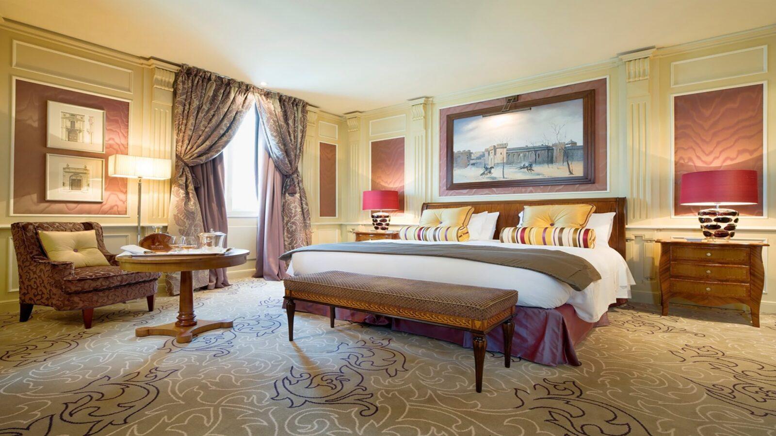 Deluxe Room at Hotel Principe di Savoia