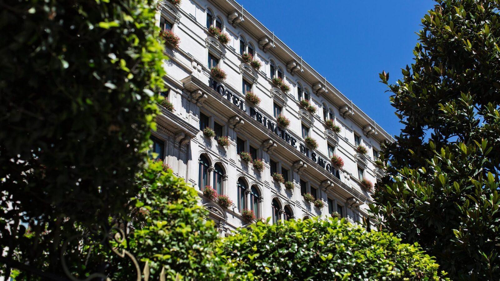 Hotel Principe di Savoia, facade