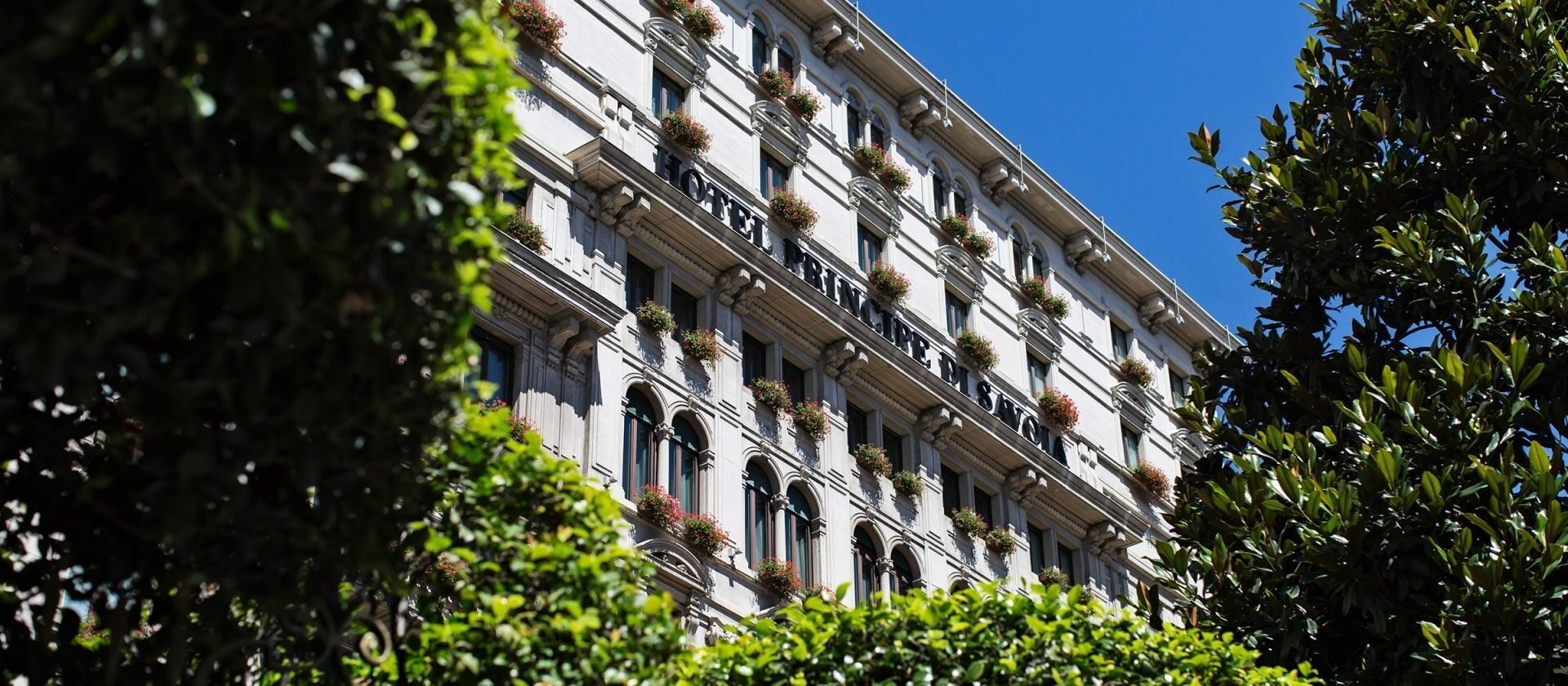 Exterior view of Hotel Principe di Savoia