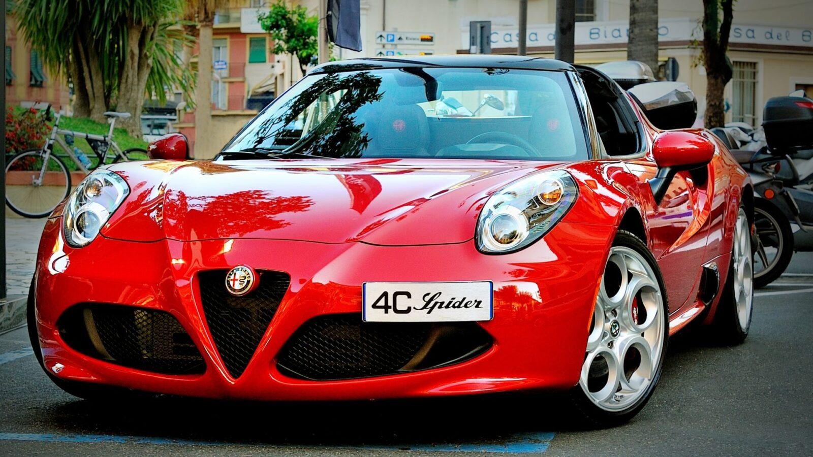 Alfa Romeo driving experience with Hotel Principe di Savoia