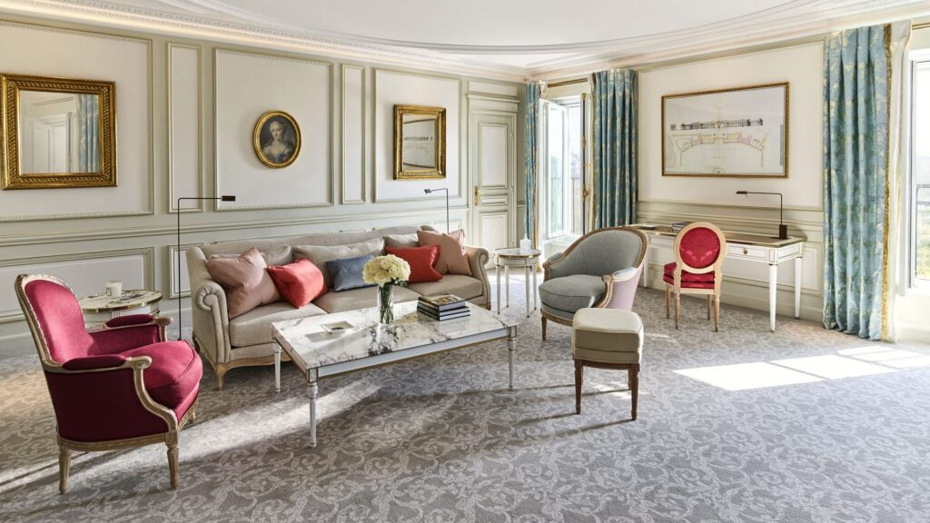 Live a new suite life at Le Meurice