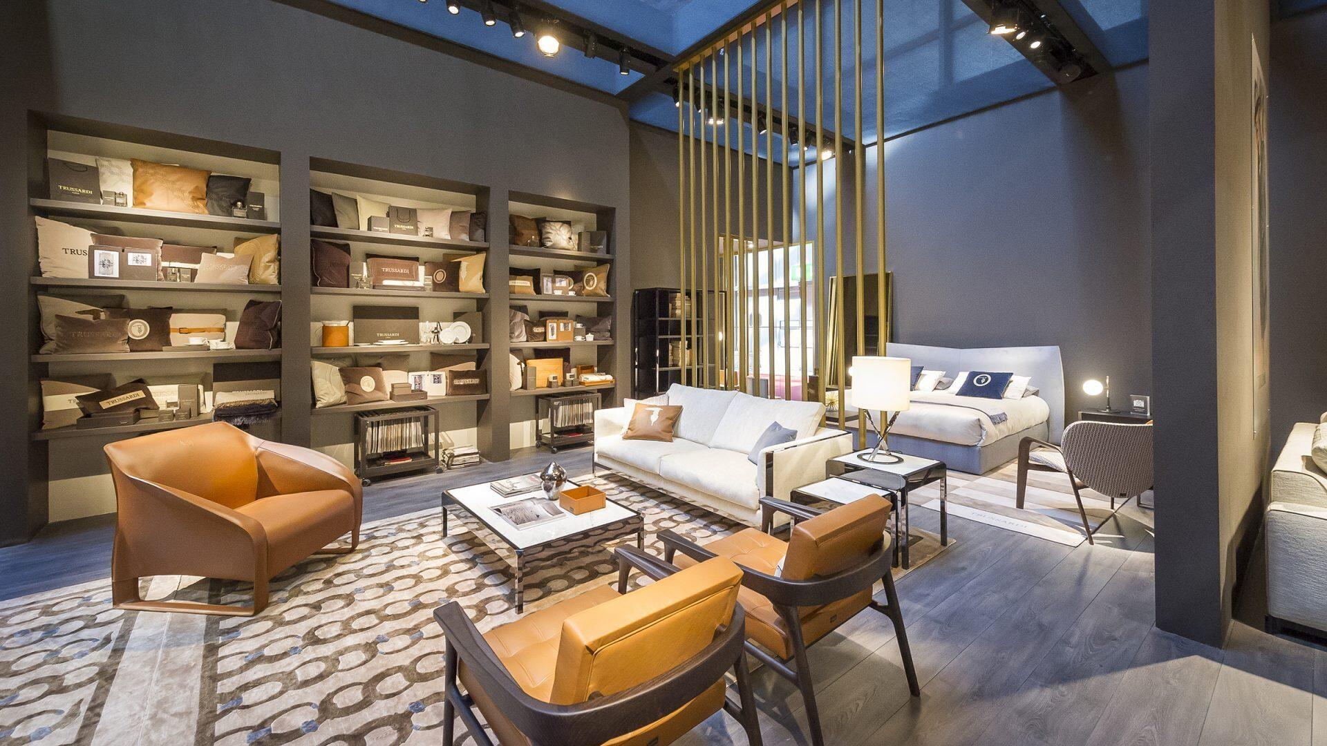 Furniture exhibition at Milan design week