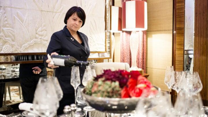 Mara Vicelli chef sommelier at Hotel Principe di Savoia