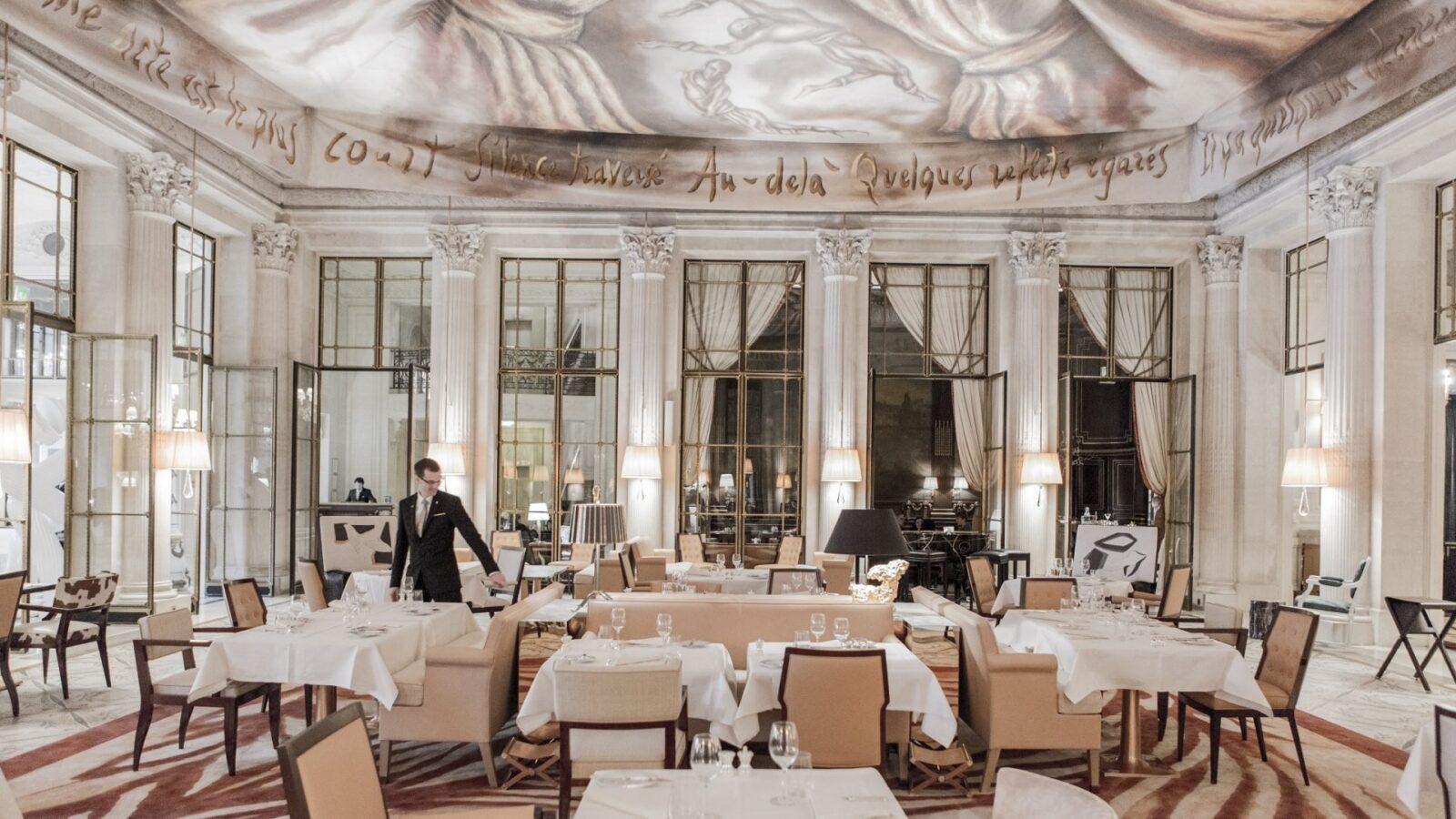 Paris - Le Meurice - Restaurant Le Dalí