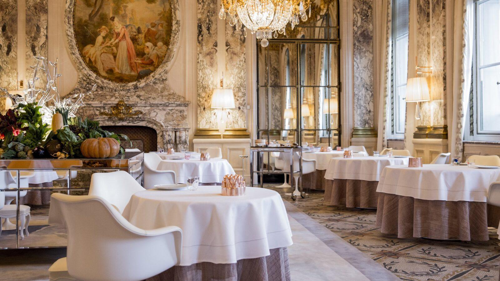 Restaurant Le Meurice Alain Ducasse