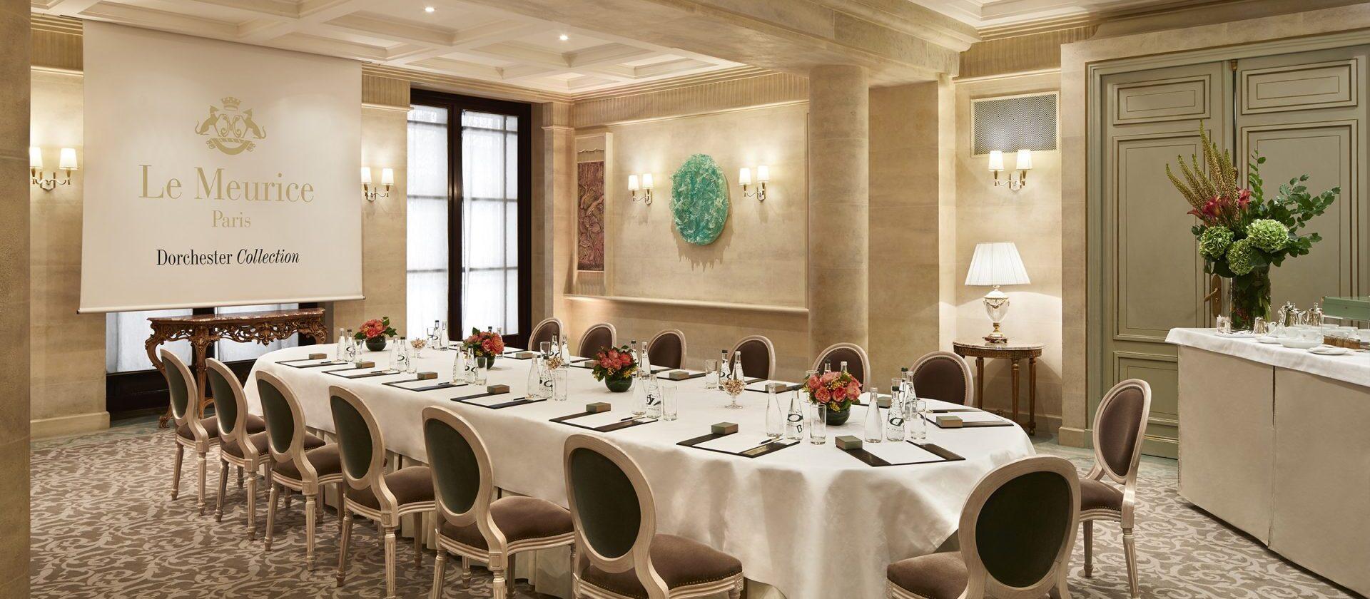 Salons de réception - Paris - Le Meurice | Dorchester Collection