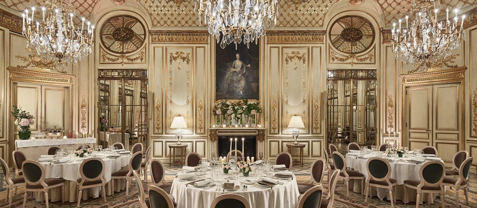Salon Pompadour - Paris - Le Meurice | Dorchester Collection