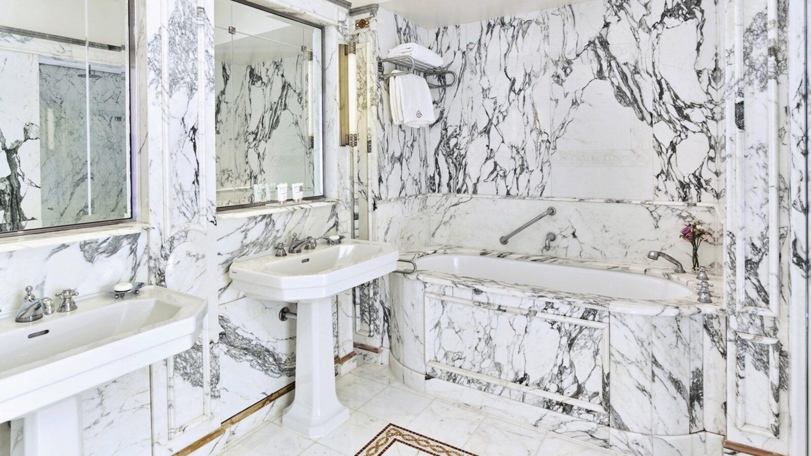 Bathe in marble splendour