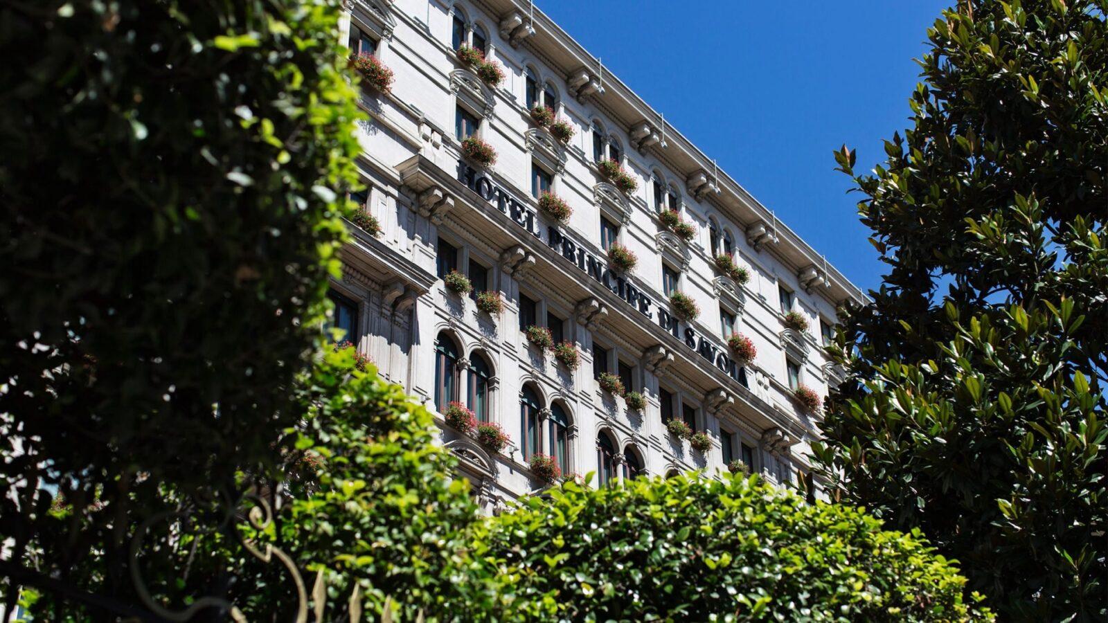 Hotel Principe di Savoia, Milan. Facade