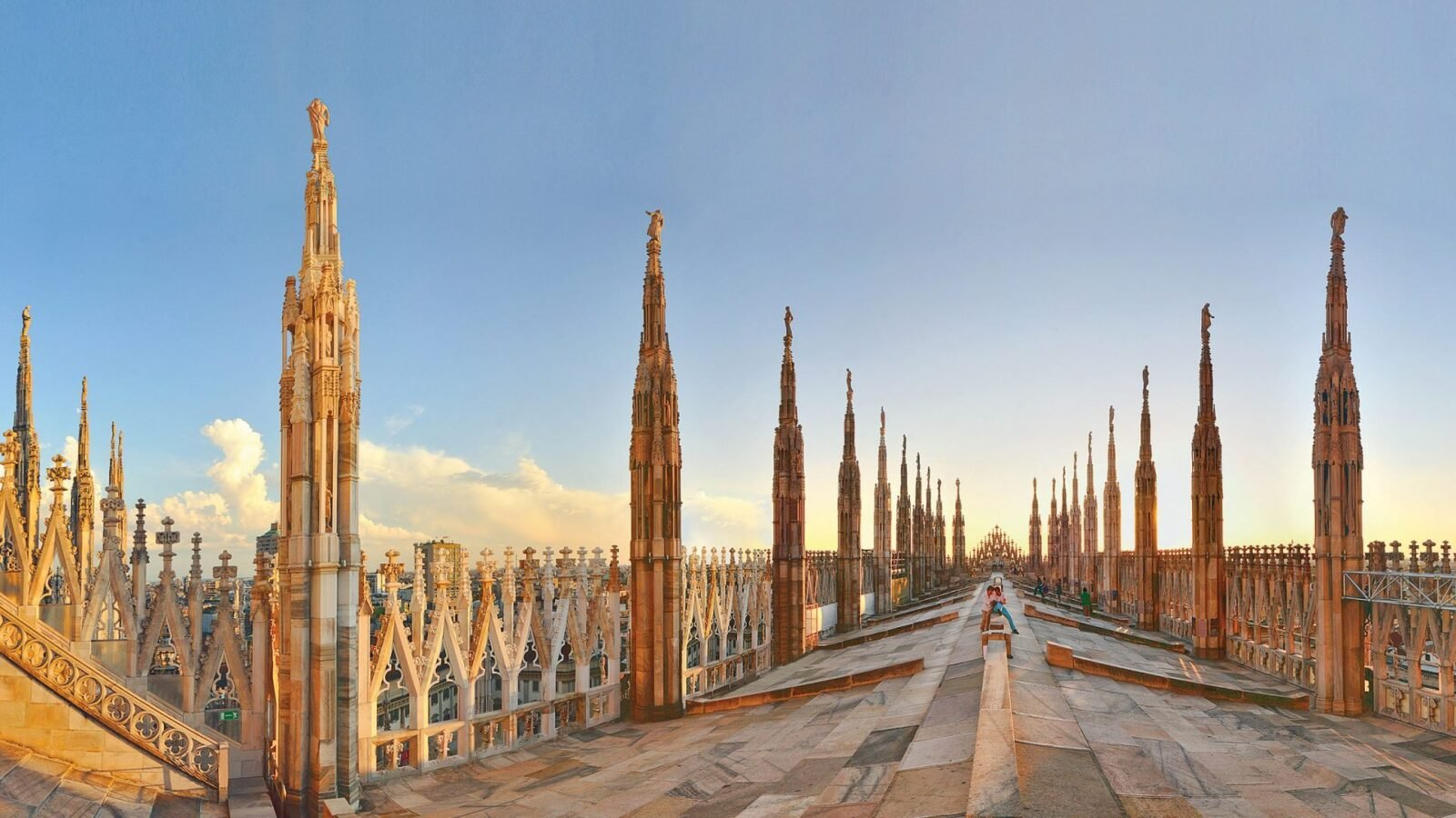 Roof Terraces of the Duomo