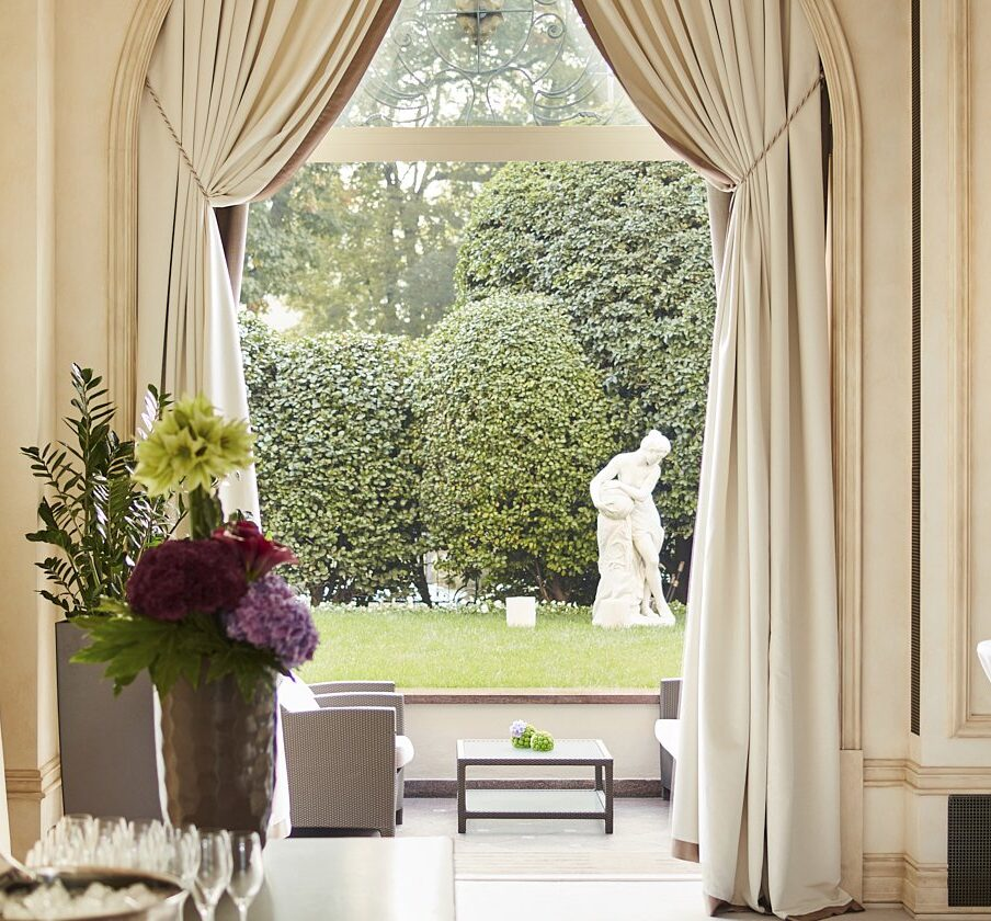 Hotel Principe di Savoia event spaces, Veranda area