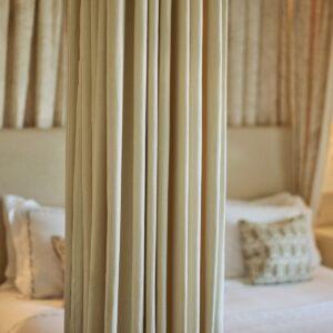 Sleep peacefully in modern luxury detail